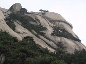 Sebahagian daripada geotrail pergunungan Tianzhushan